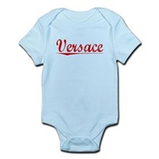 Versace, Vintage Red Infant Bodysuit