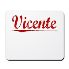 Vicente, Vintage Red Mousepad