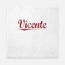 Vicente, Vintage Red Queen Duvet