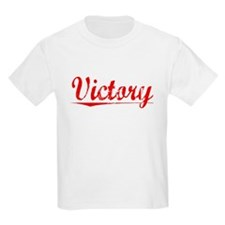 Victory, Vintage Red T-Shirt