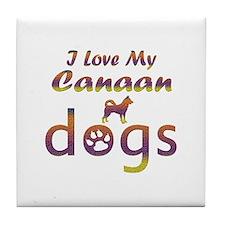 Canaan designs Tile Coaster