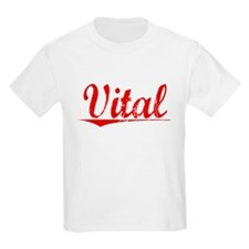 Vital, Vintage Red T-Shirt