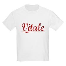 Vitale, Vintage Red T-Shirt