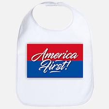 America First Baby Bib