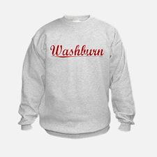 Washburn, Vintage Red Sweatshirt