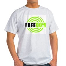 FREEDOM Ash Grey T-Shirt