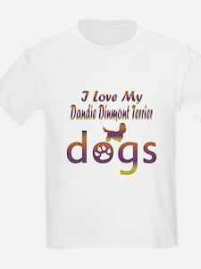 Dandie Dinmont Terrier designs T-Shirt