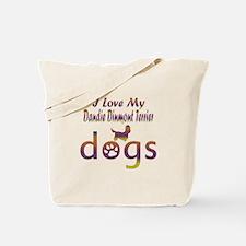 Dandie Dinmont Terrier designs Tote Bag