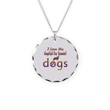 English Toy Spaniel designs Necklace