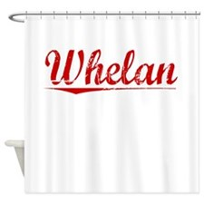 Whelan, Vintage Red Shower Curtain