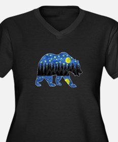 NIGHT LIGHTS Plus Size T-Shirt