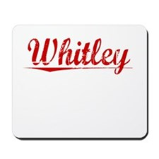 Whitley, Vintage Red Mousepad