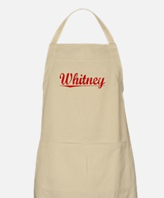 Whitney, Vintage Red Apron