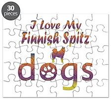 Finnish Spitz designs Puzzle