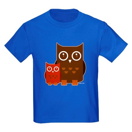 Owls Kids Dark T-Shirt
