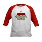 Cherry Delight Kids Baseball Jersey
