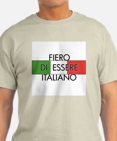 Fiero (Male) Ash Grey T-Shirt