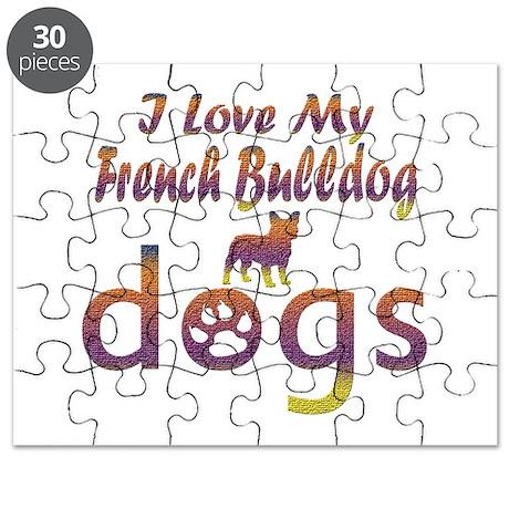 French Bulldog designs Puzzle