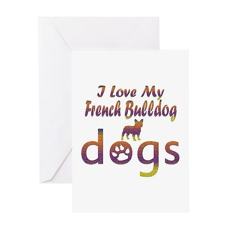 French Bulldog designs Greeting Card