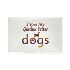 Gordon Setter designs Rectangle Magnet (10 pack)