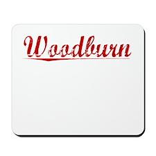 Woodburn, Vintage Red Mousepad