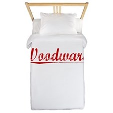 Woodward, Vintage Red Twin Duvet