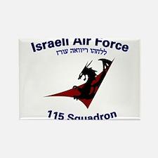 115 Sqdn IAF Rectangle Magnet
