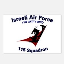 115 Sqdn IAF Postcards (Package of 8)
