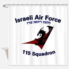 115 Sqdn IAF Shower Curtain