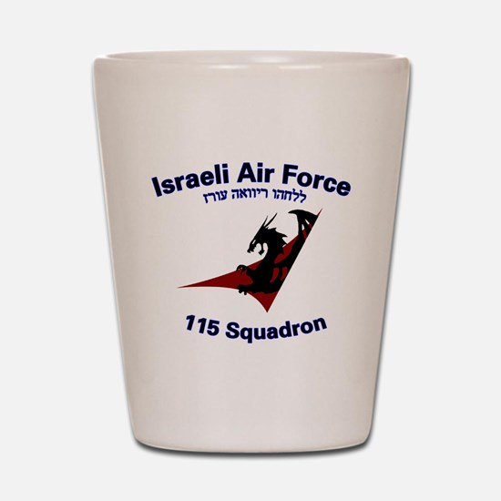 115 Sqdn IAF Shot Glass