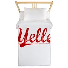 Yelle, Vintage Red Twin Duvet