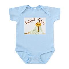 Beach Girl Infant Bodysuit