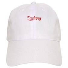 Zachery, Vintage Red Baseball Cap