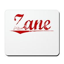 Zane, Vintage Red Mousepad