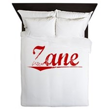 Zane, Vintage Red Queen Duvet