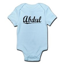 Abdul, Vintage Infant Bodysuit