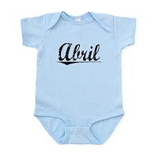 Abril, Vintage Infant Bodysuit