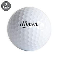 Ahmed, Vintage Golf Ball