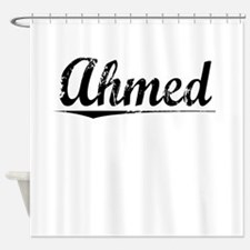 Ahmed, Vintage Shower Curtain