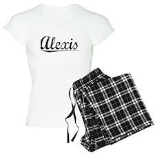 Alexis, Vintage Pajamas