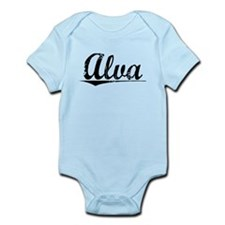 Alva, Vintage Infant Bodysuit
