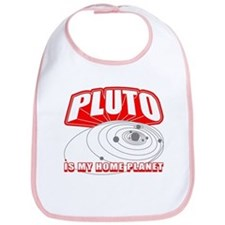 Pluto is my Home Planet Bib