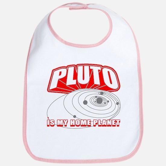 Pluto is my Home Planet Bib