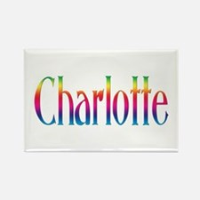 Charlotte Rectangle Magnet (100 pack)