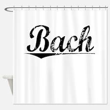Bach, Vintage Shower Curtain