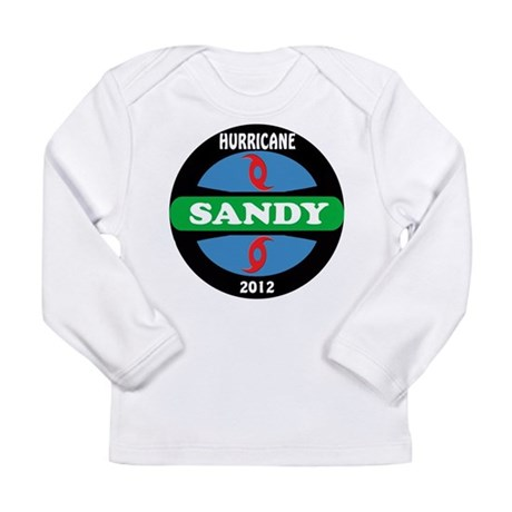 HurricaneSandy2012 Long Sleeve Infant T-Shirt