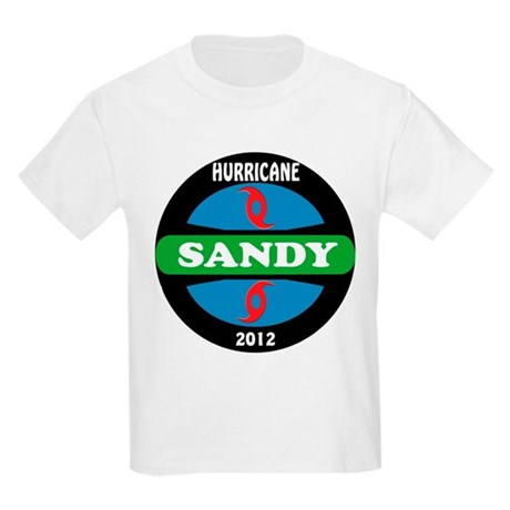 HurricaneSandy2012 Kids Light T-Shirt