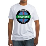 HurricaneSandy2012 Fitted T-Shirt