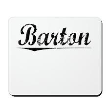 Barton, Vintage Mousepad