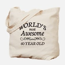 Awesome Birthday Tote Bag